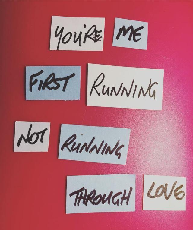 First Running