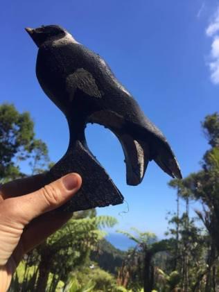 gardenwoodenbird